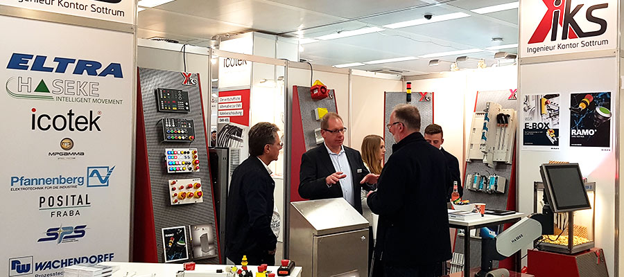 "IKS at the exhibition ""all about automation"""
